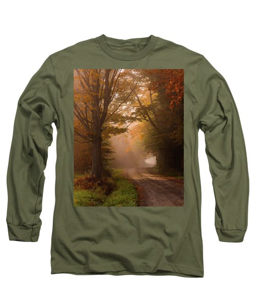Serenity Of Fall Long Sleeve T-Shirt