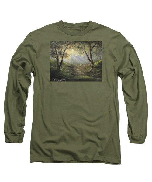 Sunlit Forrest  Long Sleeve T-Shirt