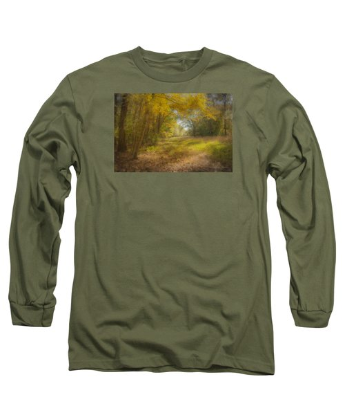 Sunlit Meadow In Borderland Long Sleeve T-Shirt
