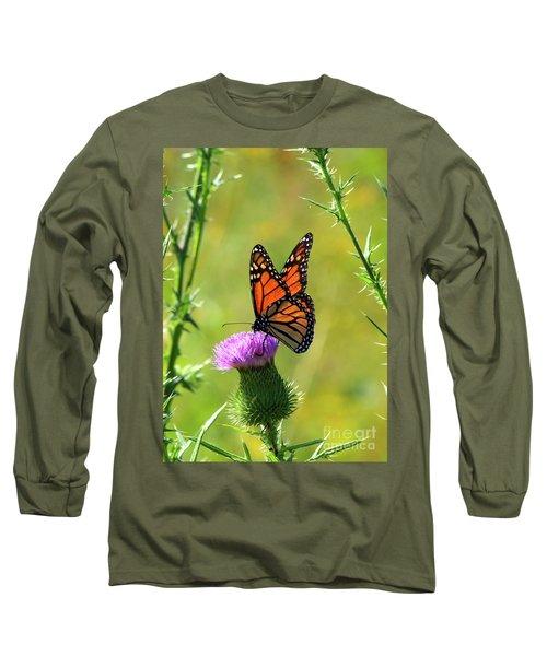 Sunlit Monarch  Long Sleeve T-Shirt