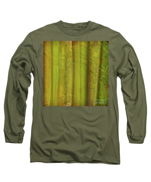 Sunlit Fall Forest Long Sleeve T-Shirt