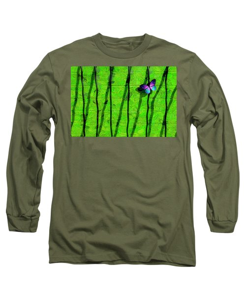 Long Sleeve T-Shirt featuring the photograph Sunning by Paul Wear