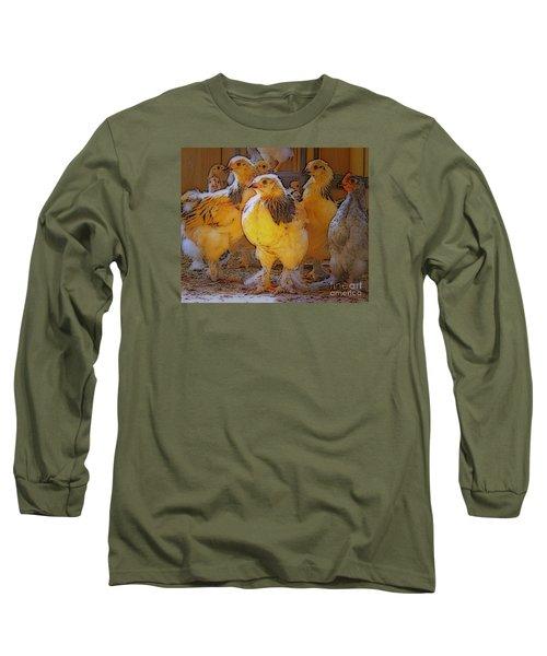 Sunny Chicks Long Sleeve T-Shirt by Ruanna Sion Shadd a'Dann'l Yoder