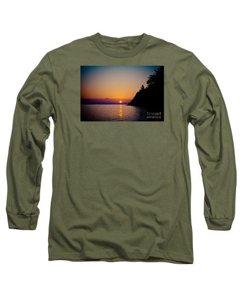 Sunrise And Seascape Long Sleeve T-Shirt
