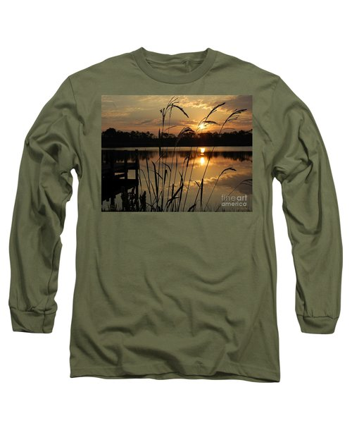 Sunrise At Grayton Beach Long Sleeve T-Shirt