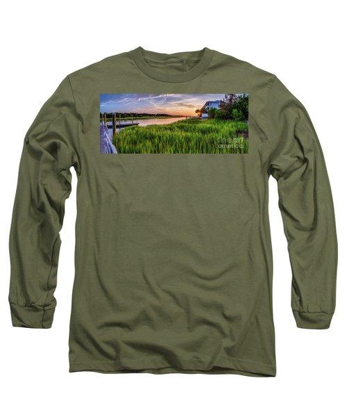 Sunrise At The Boat Ramp Long Sleeve T-Shirt