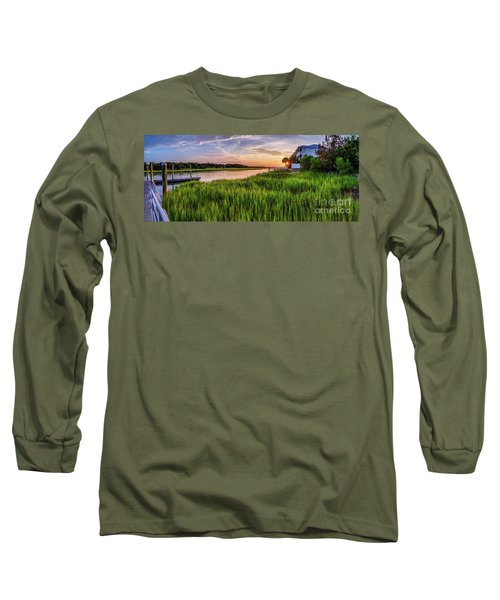 Sunrise At The Boat Ramp Long Sleeve T-Shirt