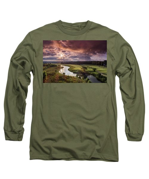 Sunrise At The Course Long Sleeve T-Shirt