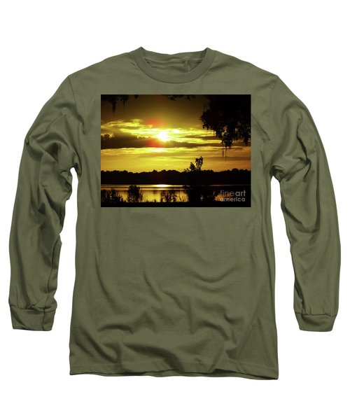 Sunrise At The Lake Long Sleeve T-Shirt