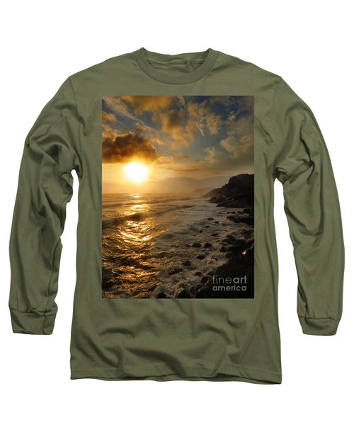 Sunrise By The Rocks Long Sleeve T-Shirt