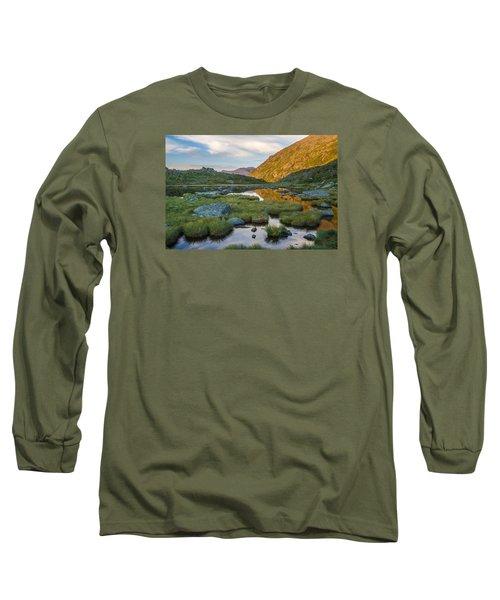 Sunrise From Star Lake Long Sleeve T-Shirt