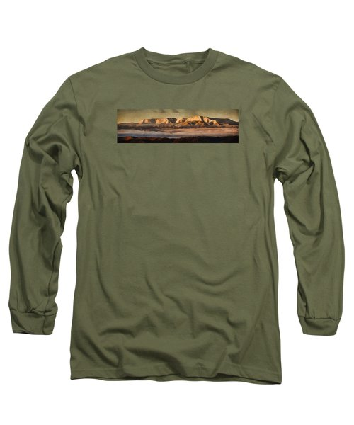 Sunrise Glow Pano Pnt Long Sleeve T-Shirt