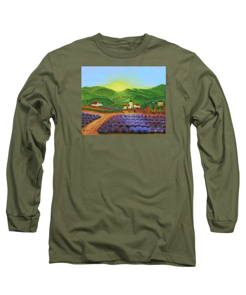 Sunrise In Tuscany Long Sleeve T-Shirt