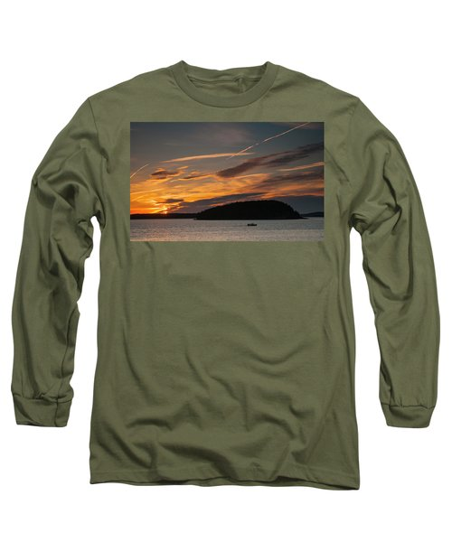 Sunrise On Bar Harbor #2 Long Sleeve T-Shirt