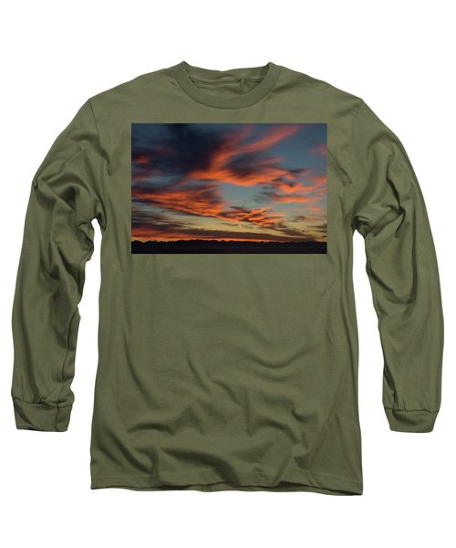 Sunrise On Fire Long Sleeve T-Shirt