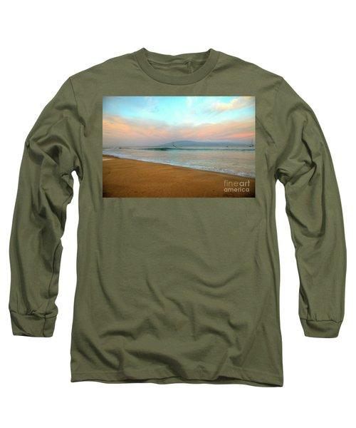 Sunrise On Ka'anapali Long Sleeve T-Shirt