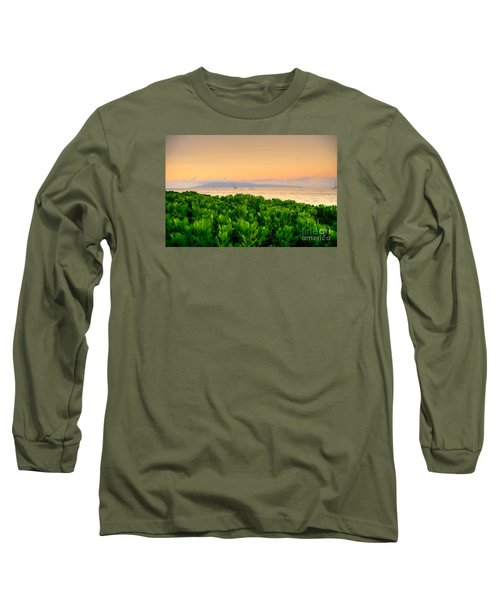 Long Sleeve T-Shirt featuring the photograph Sunrise On Maui by Kelly Wade