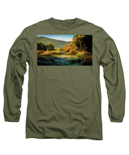 Sunrise On The Duck Marsh Long Sleeve T-Shirt