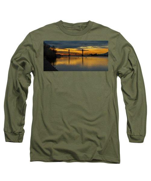 Sunrise On The Willamette Long Sleeve T-Shirt
