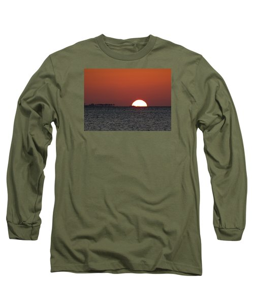 Sunrise Over The Bay 5x7 Long Sleeve T-Shirt