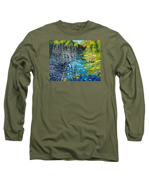 Sunrise Swamp Long Sleeve T-Shirt