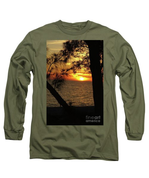 Sunset 1 Long Sleeve T-Shirt by Megan Cohen