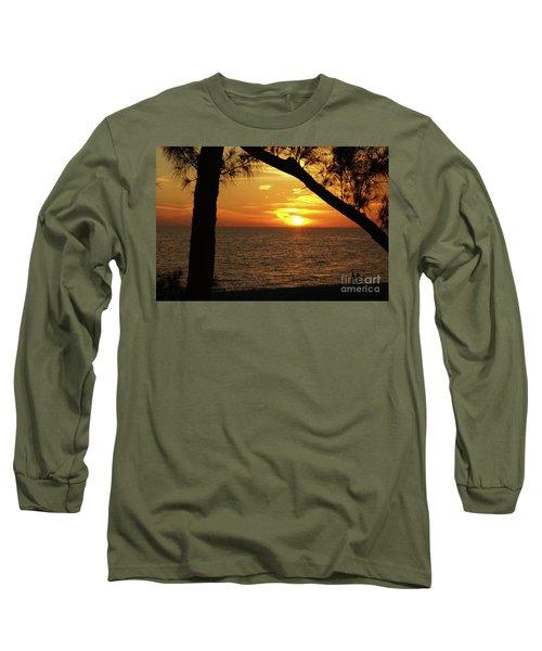 Sunset 2 Long Sleeve T-Shirt by Megan Cohen