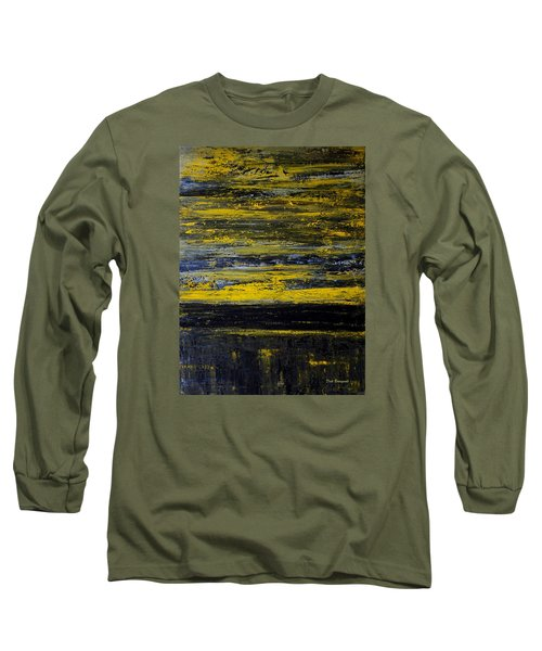 Sunset Abstract Long Sleeve T-Shirt