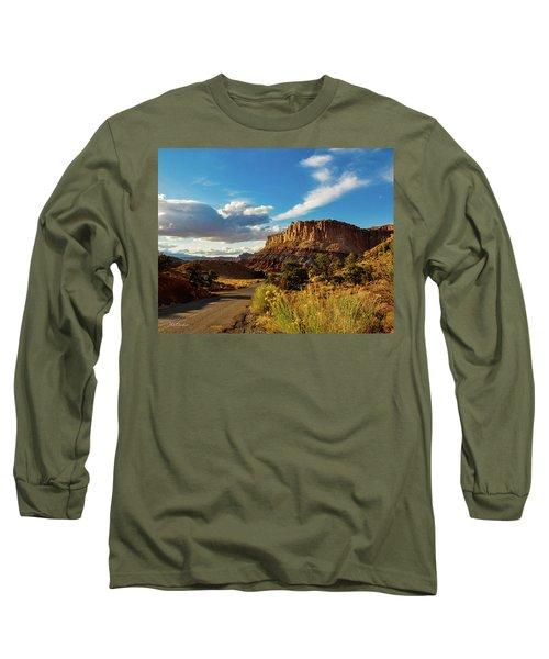Sunset At Capitol Reef Long Sleeve T-Shirt