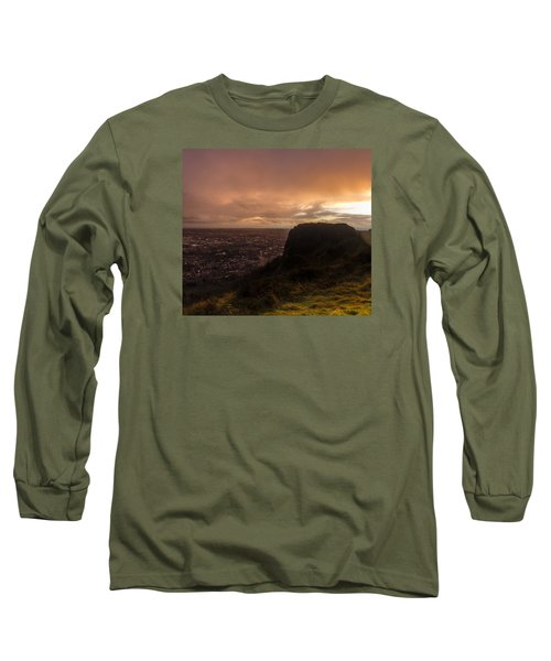 Sunset At Cavehill Long Sleeve T-Shirt