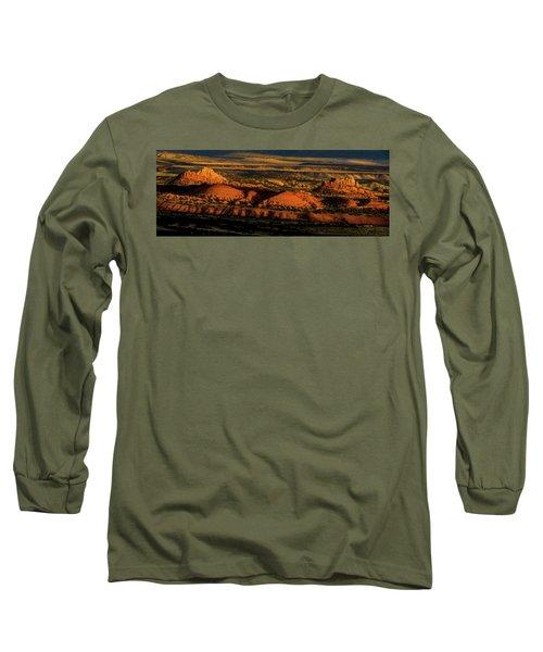 Sunset At Donkey Flats Long Sleeve T-Shirt