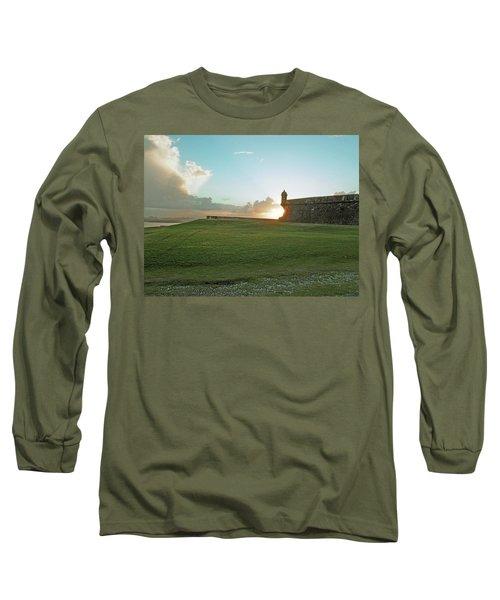 Sunset At El Morro Long Sleeve T-Shirt