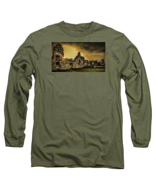 Sunset At Grace Dieu Long Sleeve T-Shirt