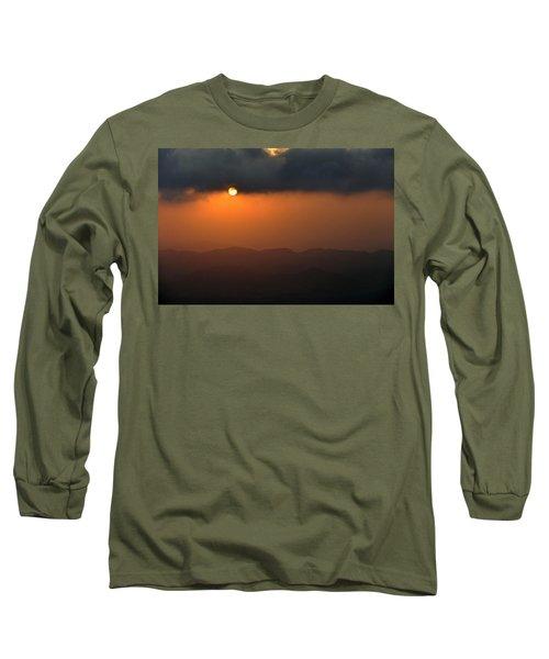 Long Sleeve T-Shirt featuring the photograph Sunset At Mitzpe Ramon by Dubi Roman