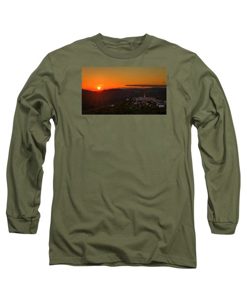 Sunset At Padna Long Sleeve T-Shirt