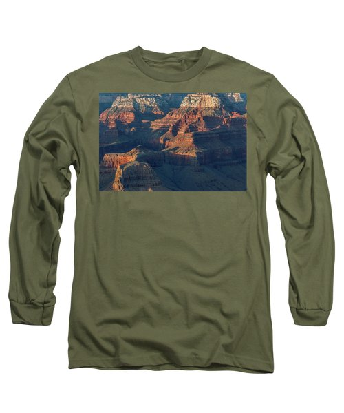 Sunset At The South Rim, Grand Canyon Long Sleeve T-Shirt