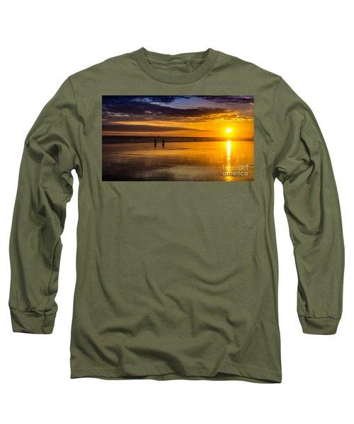 Sunset Bike Ride Long Sleeve T-Shirt