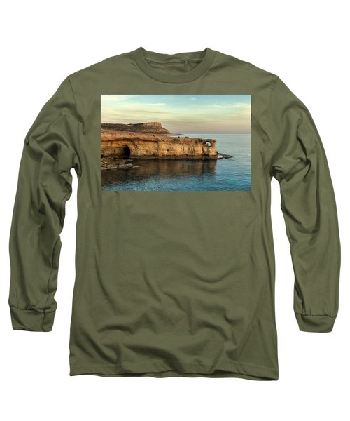 Sunset By The Cape Long Sleeve T-Shirt by Mike Santis
