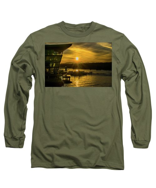 Sunset By The Convention Centre Long Sleeve T-Shirt