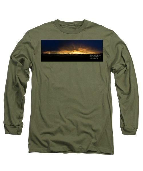 Long Sleeve T-Shirt featuring the photograph Sunset Clouds by Brian Jones