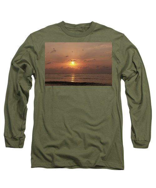 Sunset Florida Long Sleeve T-Shirt