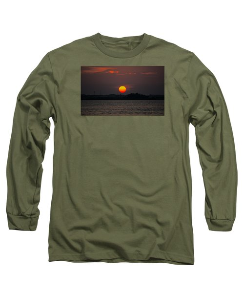 Sunset In Biloxi Long Sleeve T-Shirt