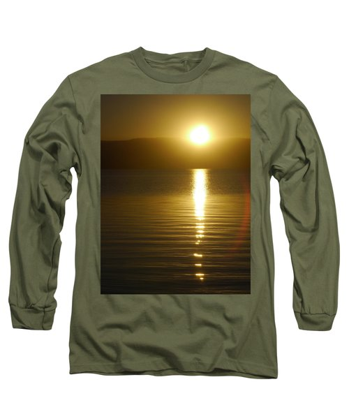 Sunset In January Long Sleeve T-Shirt