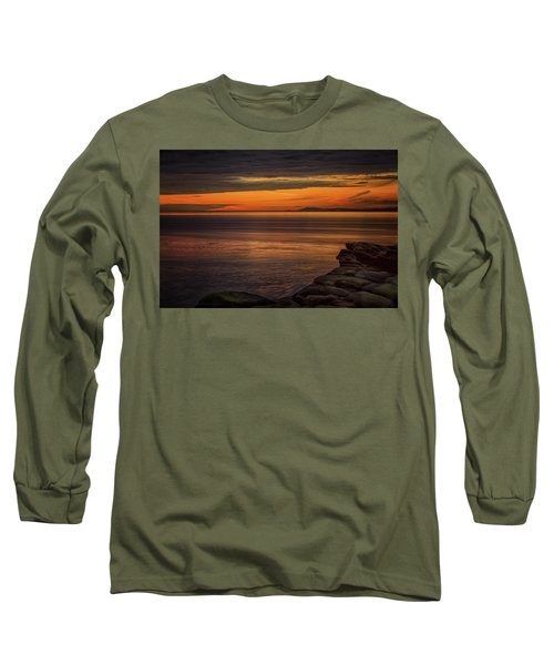 Sunset In May Long Sleeve T-Shirt by Randy Hall