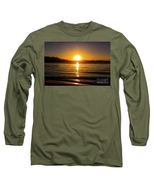 Sunset Lake 1 Long Sleeve T-Shirt