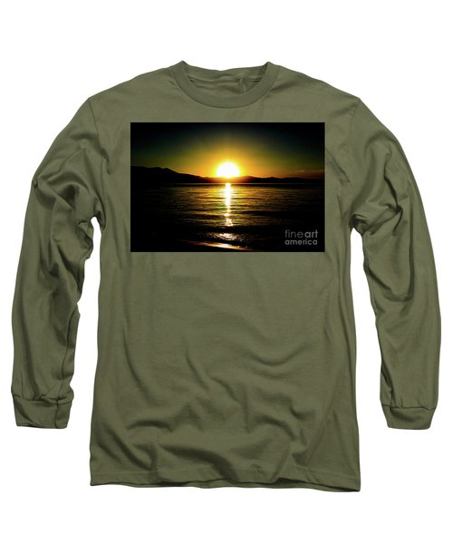Sunset Lake 2 Long Sleeve T-Shirt