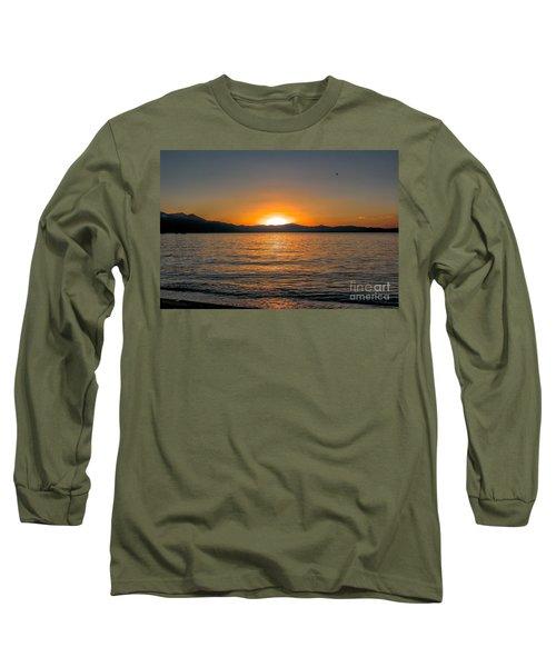 Sunset Lake 3 Long Sleeve T-Shirt