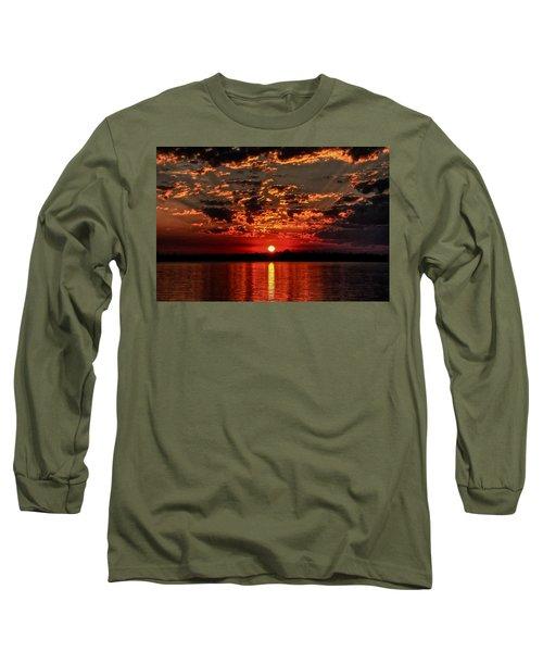 Sunset On The Zambezi Long Sleeve T-Shirt