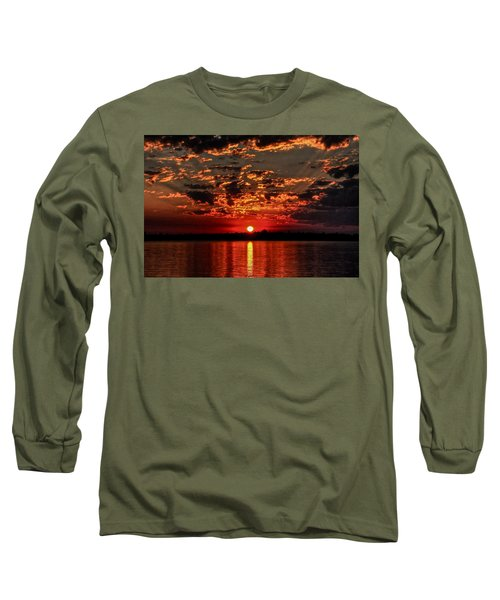 Sunset On The Zambezi Long Sleeve T-Shirt