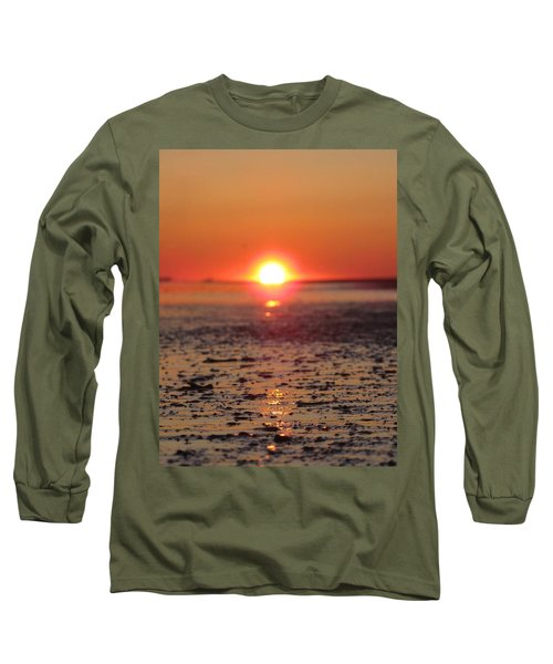 Sunset Over The Sea Long Sleeve T-Shirt